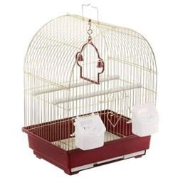 """Клетка 35х28х43см """"Золотая клетка"""" для птиц (А400) - фото 8543"""