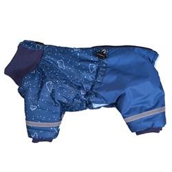 Комбинезон зимний 25М (кобель) синий JOY с утеплителем  для собак - фото 8638