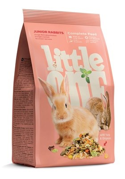 Корм 400г Little One для молодых кроликов (590) - фото 9703