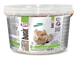 Корм 3л Lolo Pets полнорационный для шиншилл (LO-71661) - фото 9727