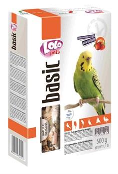 Корм 500г Lolo Pets фруктовый для волнистых попугаев (LO-72101) - фото 9922