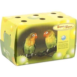 Переноска картонная Шурум-Бурум для птиц и грызунов - фото 9962