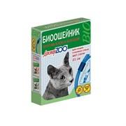 Ошейник БИО 35см Доктор ZOO от блох, клещей СИНИЙ для кошек и мелких собак (ZR0924)