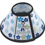 """Воротник ветеринарный """"Цветы"""" 19.5x9x10см Шурум-Бурум для собак (Р703)"""