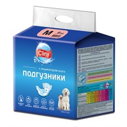 Подгузники М 5-10кг CLINY 9шт для собак (К203)