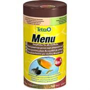 Корм 100мл Tetra Menu Food Mix 4 вида хлопьев для рыб (767386С)
