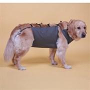 Попона послеоперационная JOY уп.2шт цвет хаки размер М 55-60 для собак