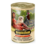 Корм 400г BROOKSFIELD говяд/индейка и рис для собак ж/б (5654001)