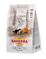Корм 2кг SAVARRA с индейкой для кошек крупных пород (5649171)