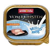 Корм 100г Animonda Vom Feinsten+milkies с мясом домаш.птицы и начин. из сливок для кошек (001/83114)