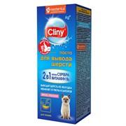 Паста 30мл Cliny лосось для выведения шерсти для кошек (К114)