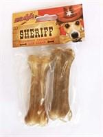 Кость из жил 10см БРАВА ШЕРИФ уп.2шт для собак (157977)
