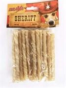 Палочка 12,5см БРАВА ШЕРИФ из жил уп.20шт для собак (157997)