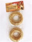 Кольцо 7,5см БРАВА ШЕРИФ прессованое уп.2шт для собак (158002)