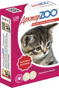Доктор ZOO 120тб Здоровый котенок мультивитаминное лакомство для котят (ZR0204)