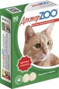 Доктор ZOO 90тб Здоровье и красота мультивитаминное лакомство для кошек (ZR0202)