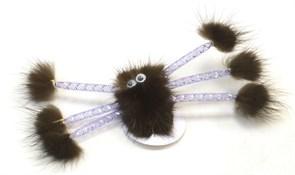 Паук JOY из норки игрушка для кошек (sh-07105)