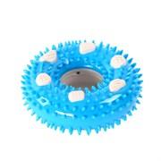 Кольцо 10х3,5см Шурум-Бурум синяя резиновая игрушка для собак (А992)