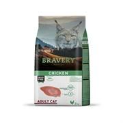 Корм 2кг BRAVERY курица для кошек