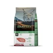 Корм 2кг BRAVERY курица для стерилизованных кошек