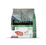 Корм 400г BRAVERY курица для стерилизованных кошек