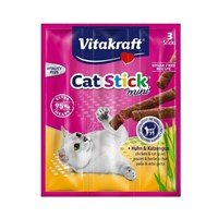 Колбаски 3шт*6г CAT-STICK MINI курица,травы  для кошек (31219)