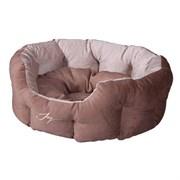 Лежанка круглая 50х40х20см JOY Кристалл для собак