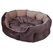 Лежанка круглая 60х50х21см JOY Кристалл для собак