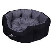 Лежанка круглая 50х40х20см JOY Морион для собак
