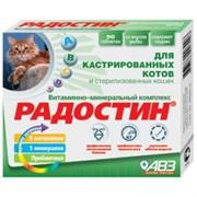 Радостин 90тб витаминно-минеральный комплекс д/кастрир.котов (АВ666)