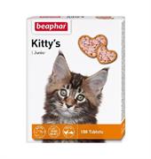 Kittys Unior 150тб Beaphar с биотином для котят (12508С)
