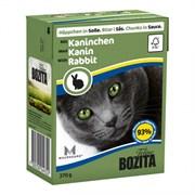 Корм 370г Bozita с кусочками кролика в соусе для кошек (4932/4332)