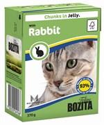 Корм 370г Bozita с кроликом в желе для кошек (4916)