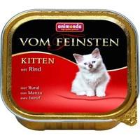 Корм 100г Animonda Vom Feinsten Kitten с говядиной для котят (001/83448)