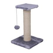 Когтеточка большая на подст.50х30х30см Шурум Бурум серая для кошек