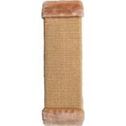 Когтеточка большая плетеная сизаль 50х15см Шурум-Бурум бежев. для кошек