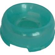 Миска 250мл 15х15х6см малая пластиковая для кошек (Р503)