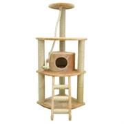 Домик угловой четырехуровневый Шурум-Бурум для кошек
