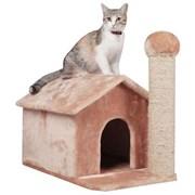 Домик-Избушка 54х36х50см Шурум-Бурум для кошек