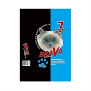 Наполнитель 7л Брава минеральный для длиннош.кошек (12441)
