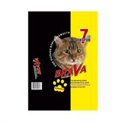 Наполнитель 7л Брава минеральный д/гладкош.кошек (12440)