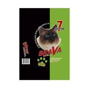 Наполнитель 7л Брава минеральный для кошек (12439)