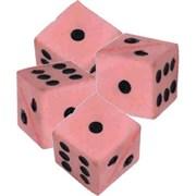 Кубик 3,5см Шурум-Бурум поролоновый красный игрушка для кошки (03-70258 A)