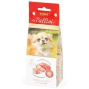 Печенье 125г TITBIT Pallini с телятиной д/собак мелких пород (001073)