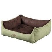 Лежанка квадратная 50х43х19см JOY цвет в ассортименте для кошек и собак