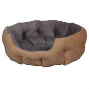 Лежанка круглая 60х50х21см JOY светлая для собак