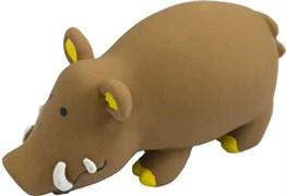 Кабан 20см латексная игрушка для собак (56103)