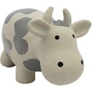 Корова 20см латексная игрушка для собак (581-04)