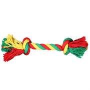 Веревка 2 узла 35см JOY текстильная игрушка для собак