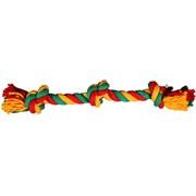 Веревка 3 узла 50см JOY текстильная игрушка для собак